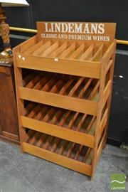 Sale 8515 - Lot 1003 - Vintage Lindermans Wine Rack
