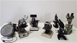 Sale 9254 - Lot 2332 - Large collection of scientific equipment incl microscopes etc