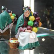 Sale 8351 - Lot 2 - Royal Doulton Figure The Balloon Seller