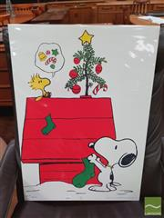 Sale 8421 - Lot 1058 - Vintage and Original Snoopy Poster