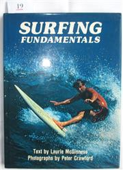 Sale 8431B - Lot 19 - Surfing Fundamentals by Laurie McGinness and Peter Crawford, Reed 1978, 80 pages