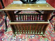 Sale 8462 - Lot 1031 - Magazine rack (double book-in.See item 19)