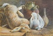 Sale 8519 - Lot 598 - Artist Unknown (Late 19th Century) - Still Life 34.5 x 50cm