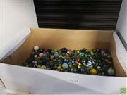 Sale 8563T - Lot 2434 - Box of Marbles