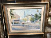 Sale 8824 - Lot 2057 - Otto Kuster - The Paddington Town Hall Oil Painting (44 x 59) SLL