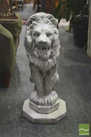 Sale 8272 - Lot 1028 - Statue Depicting Lion
