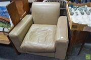 Sale 8499 - Lot 1092 - Country Road Leather Armchair