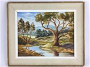 Sale 8607R - Lot 65 - Sid Munday - Oil on Board (29.5 x 37cm)
