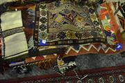 Sale 8058 - Lot 1048 - Collection of Middle Eastern Woven Satchels, Cushion Covers & Sacks