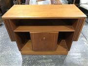 Sale 9039 - Lot 1049 - McIntosh Teak Entertainment Unit (H70 x W88 x D41cm)