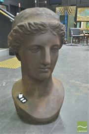 Sale 8272 - Lot 1002 - Large Bust Depicting Woman