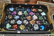 Sale 8328 - Lot 1088 - Polished Semi Precious Gem Collection