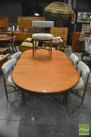 Sale 8350 - Lot 1054 - G-Plan Teak Table and set of 6 Chairs