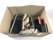 Sale 8539M - Lot 268 - Magic Wands and other accessories including linking rings with instructions, die box and egg tricks
