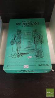 Sale 8537 - Lot 2352 - Teaching Resources, Aspects of The Depression in Australia Teaching Pack incl Booklets