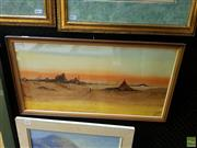 Sale 8631 - Lot 2040 - Jan DeLeener - Arabian Scene, Watercolour, signed lower right