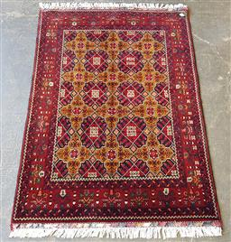Sale 9215 - Lot 1492 - Persian hand knotted pure wool Kundus (150 x 100cm)
