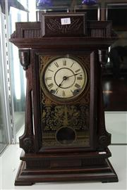 Sale 7977 - Lot 12 - Victorian Seth Thomas Mantel Clock (key and pendulum in office)