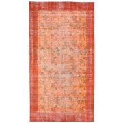Sale 8761C - Lot 48 - A Vintage Turkish Overdye Carpet, Hand-knotted Wool, 250x136cm, RRP $1,220