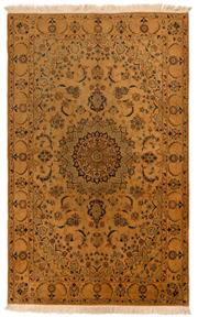 Sale 8800C - Lot 132 - A Persian Nain Silk Inlaid Wool On Cotton Foundation, 205 x 126cm