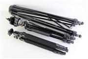 Sale 8860V - Lot 3 - A Set Of Three Tripods Incl Manfrotto
