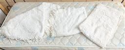 Sale 9120H - Lot 249 - A group of three lace bedspreads