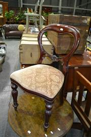 Sale 7987A - Lot 1214 - Balloon Back Chair