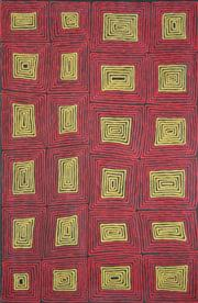 Sale 8168 - Lot 562 - Ronnie Tjampitjinpa (1943 - ) - Tingari Cycle, 2007 180 x 120cm (framed & ready to hang)