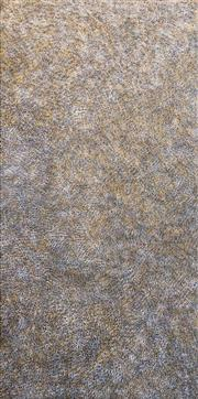 Sale 8269A - Lot 24 - Kathleen Petyarre - Bush Seeds, c2005 130 x 63cm