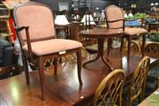 Sale 8277 - Lot 1059 - Pair of Parker Arm Chairs & Circular Occasional Table