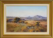 Sale 8309 - Lot 506 - John Sharman (1939 - ) - The Budawang Range 39.5 x 59.5cm
