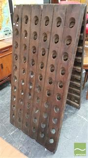 Sale 8383 - Lot 1060 - Vintage Timber Riddling Rack