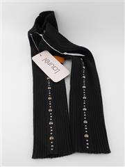 Sale 8514H - Lot 40 - Laurel Black Studded Arm Warmers