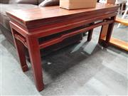 Sale 8724 - Lot 1058 - Small Oriental Bench