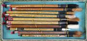 Sale 8977 - Lot 44 - A collection of Chinese calligraphy brushes, with horsehair bristles