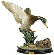 Sale 8057 - Lot 67 - Lladro Ducks at the Pond (L.E.) Figure Group