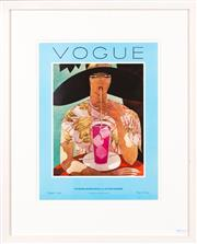 Sale 8471H - Lot 94 - Vogue Magazine front cover from August 1926 -