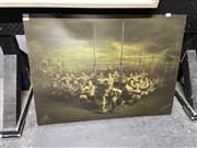 Sale 8888 - Lot 2075 - New Zealand Maori Rugby Team Poster