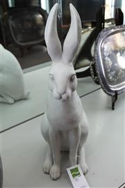 Sale 7977 - Lot 40 - A composite Hare, height 63cm