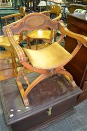 Sale 8093 - Lot 1295 - Savonarola Chair
