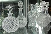 Sale 8322 - Lot 42 - Cut Crystal Decanters (4)