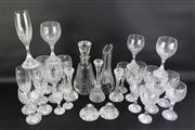 Sale 8827 - Lot 9 - Baccarat Massena Drinks Suite With Decanters