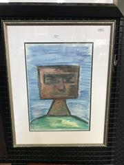 Sale 8990 - Lot 2052 - Artist Unknown, Kelly (After Sidney Nolan), crayon and wash on paper, 59 x 46 x 2 cm, signed