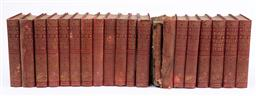 Sale 9130S - Lot 74 - A 19 volumes of The Works of William Shakespeare, largely damaged