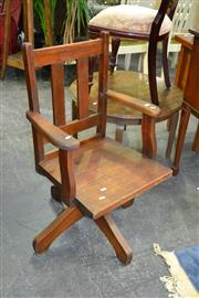 Sale 7987A - Lot 1213 - Timber Office Chair