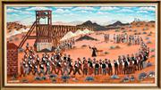 Sale 8254 - Lot 552 - Howard William Steer (1947 - ) - Final Farewell 60 x 120cm