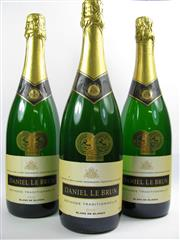 Sale 8278A - Lot 75 - 3x 2002 Daniel Le Brun Blanc de Blancs Brut, Marlborough