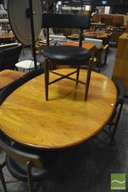 Sale 8350 - Lot 1076 - G-Plan Teak Table and set of 6 Chairs