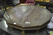 Sale 8341 - Lot 1036 - Burmese Octagonal Coffee Table