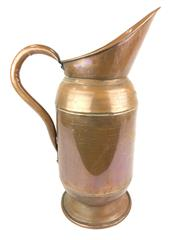 Sale 8688A - Lot 71 - Large French Copper Ewer, height: 59cm